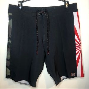 Billabong DBah AI Pro andy irons boardshorts